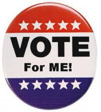 vote for me button - Blog